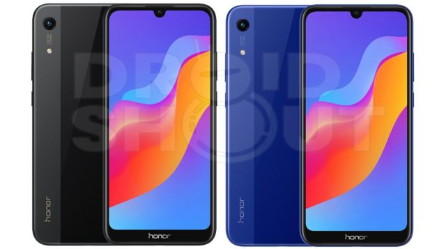 Honor 8A Render