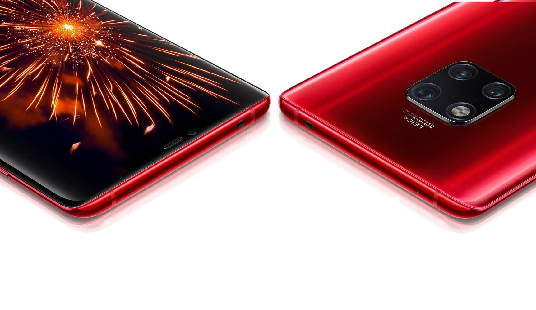 Huawei Mate 20 Pro Fragrant Red Teaser