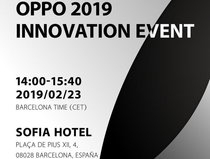 Oppo MWC 2019 Launch-Event