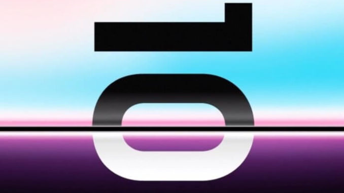 Samsung Galaxy S10 Unpacked-Event