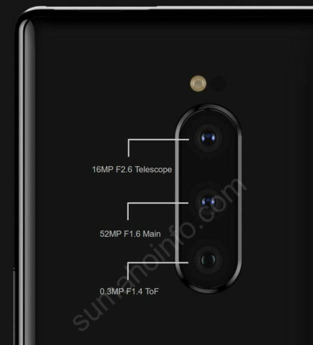 Sony Xperia XZ4 Kamera Leak