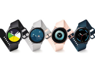 Samsung Galaxy Watch Active Pressebild