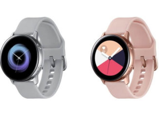 Samsung Galaxy Watch Active Leak