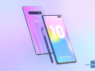 Samsung Galaxy Note 10 Konzept Render
