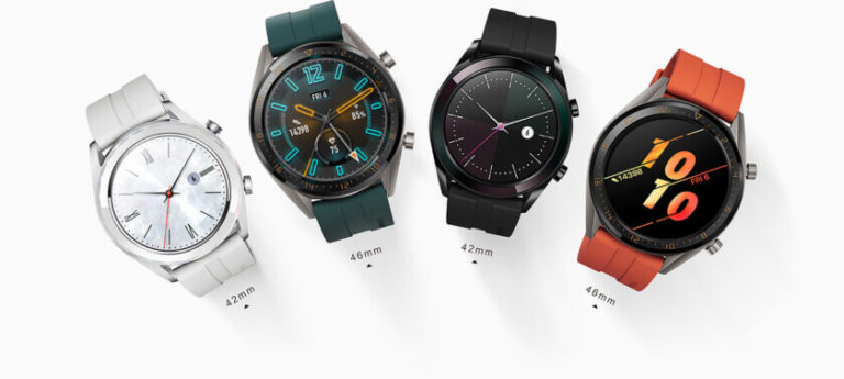 Huawei Watch GT Active und Huawei Watch GT Elegant 42mm 46mm Pressebild