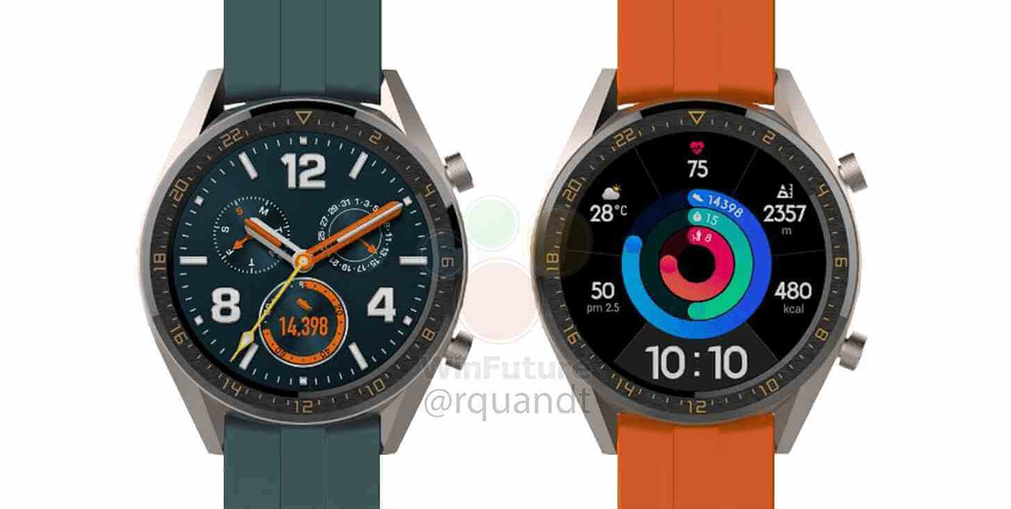 Huawei Watch GT Active Leak
