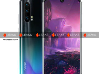 Honor 20 Render