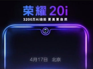 Honor 20i Release Teaser