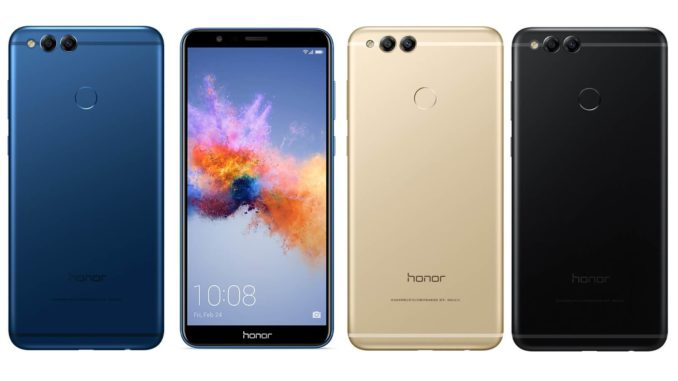 Honor 7X Pressebild