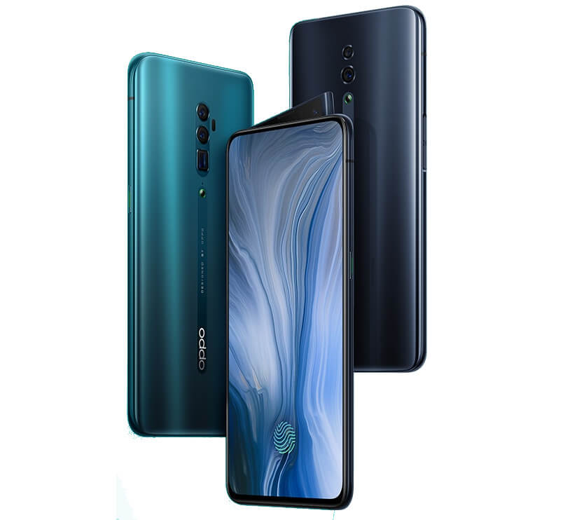 OPPO Reno 10x Hybrid Optical Zoom Edition Pressebild