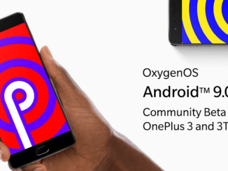 OnePlus 3 und 3T Android 9 Pie Community Beta