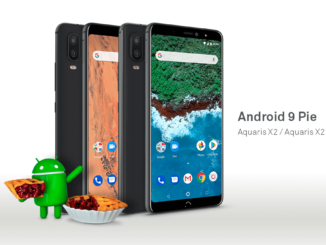 bq Aquaris X2 und X2 Pro Android 9 Pie Update Facebook