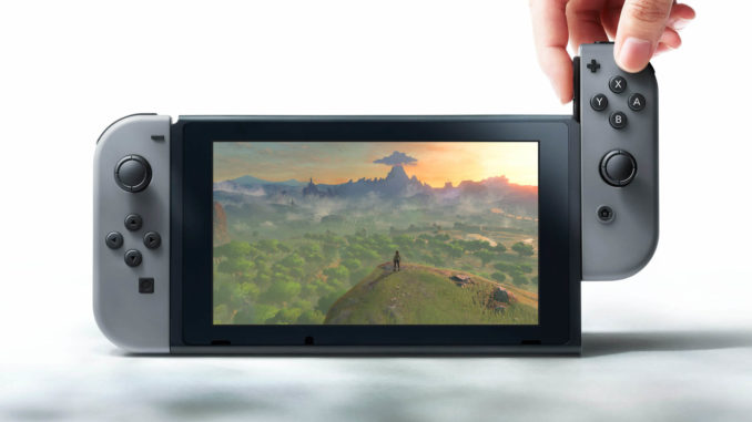Nintendo Switch Pressebild