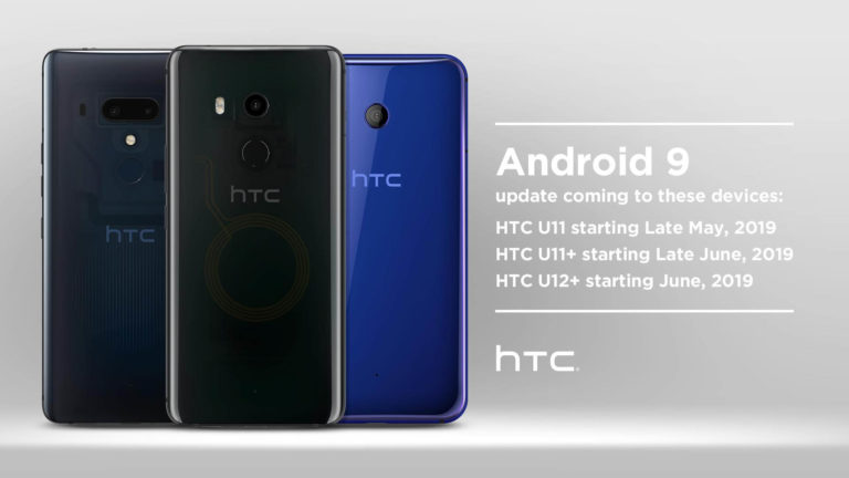 HTC röffentlicht Android 9 Pie Roadmap