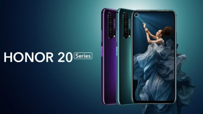 Honor 20 Series Pressebild
