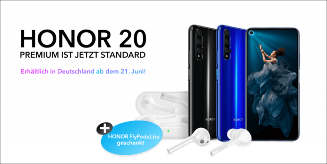 Honor 20 Deutschland-Start
