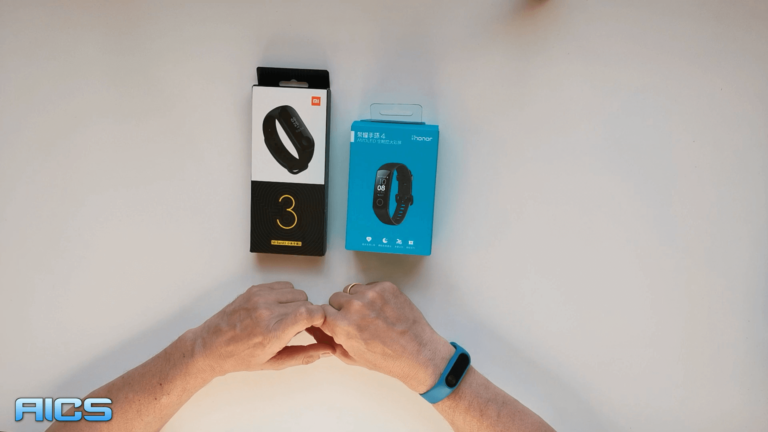 Xiaomi Mi Band 3 und Honor Band 4 Unboxing