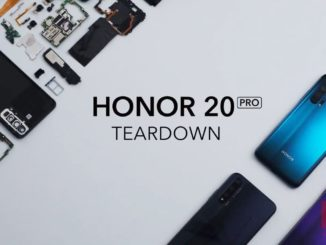 Honor 20 Pro Teardown-Video