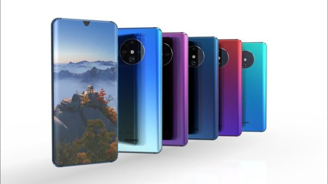 Huawei Mate 30 Pro Concept-Rendering