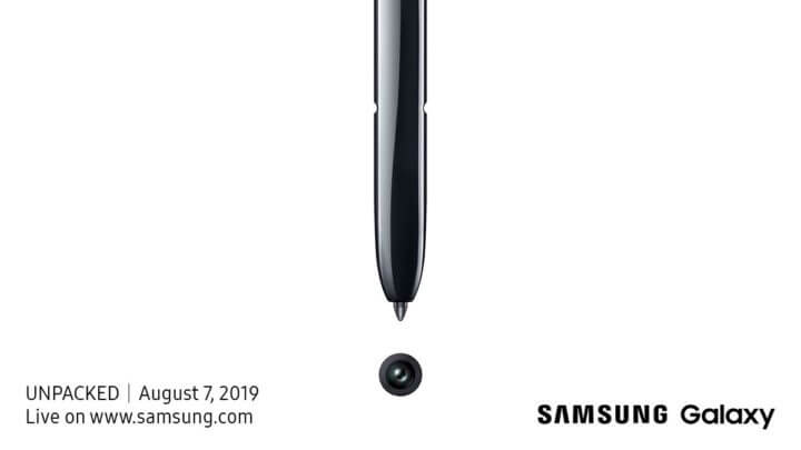 Samsung Galaxy Note 10 UNPACKED Event 2019