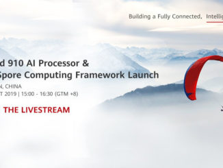 Huawei Ascend 910 AI-Chip Teaser