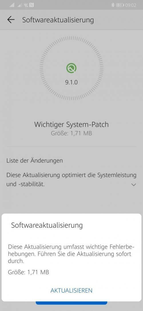 Huawei Mate 20 Pro Firmware Update [LYA-L29 9.1.0.310(C432E10R1P16patch02)]