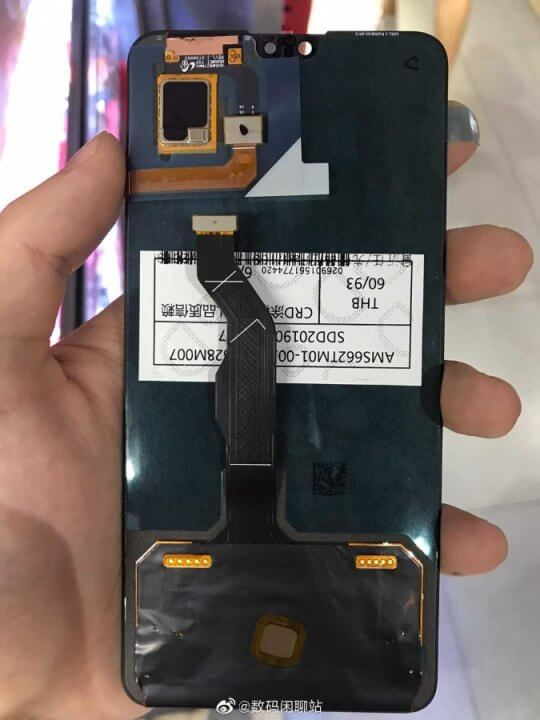 Huawei Mate 30 Display Leak