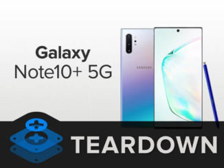 Samsung Galaxy Note 10+ 5G Teardown iFixit