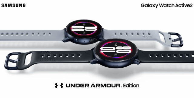Samsung Galaxy Watch Active 2 Under Armour Pressebild