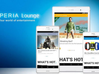Sony Xperia Lounge App