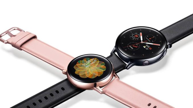 Samsung Galaxy Watch Active 2 Pressebild