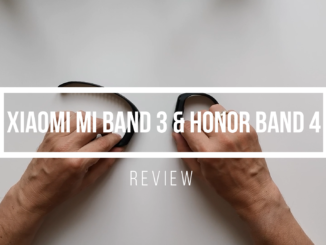 Xiaomi Mi Band 3 und Honor Band 4 Review