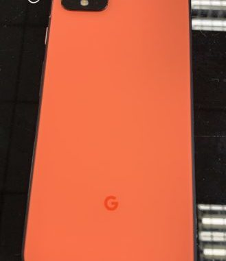 Google Pixel 4 Orange Coral