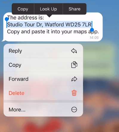 Telegram 5.11 RredesignedMessagingOptions