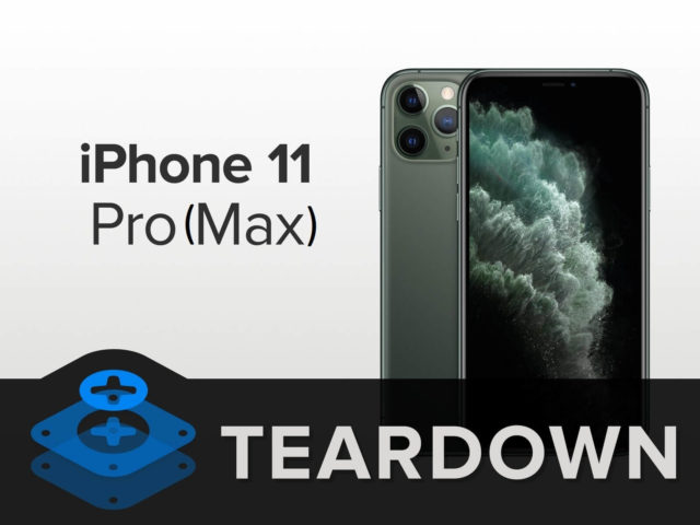 Das Apple iPhone 11 Pro Max im Teardown bei iFixit