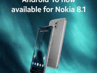 Nokia 8.1 Android 10 Update