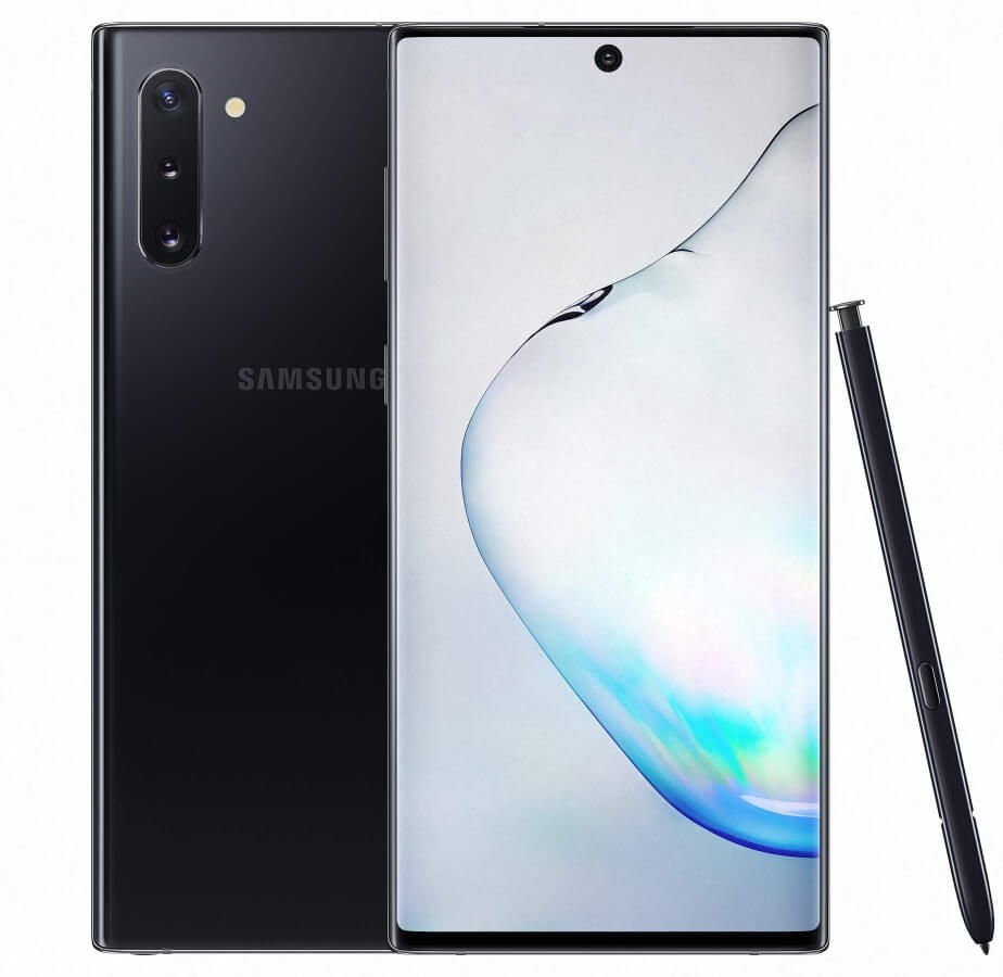 Samsung Galaxy Note 10 Aurora Black