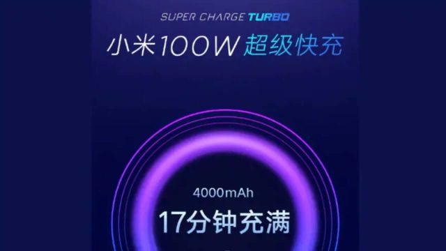 Xiaomi 100W Super Charge Turbo