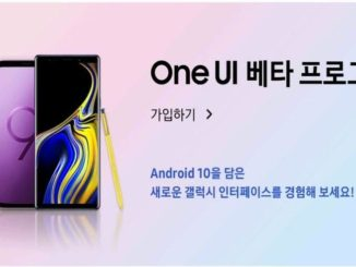 Samsung Galaxy Note 9 Android 10 One UI 2.0 Beta-Programm