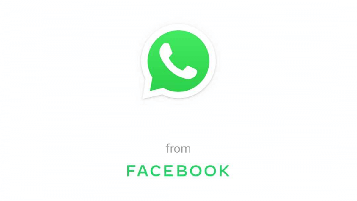 WhatsApp from Facebook Logo