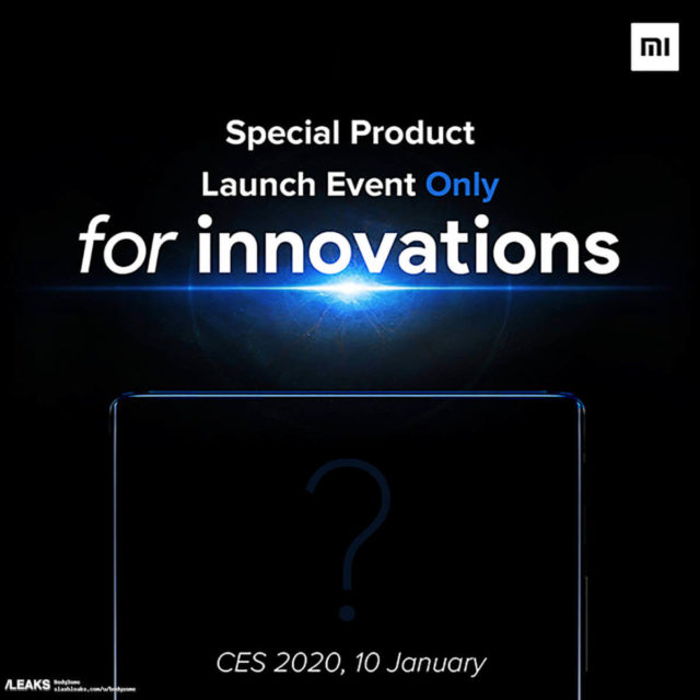 Xiaomi Mi Mix 4 Teaser Date of the Announcement
