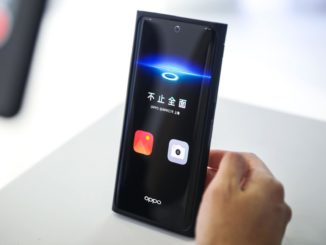 Oppo Smartphone mit Under-Display-Camera