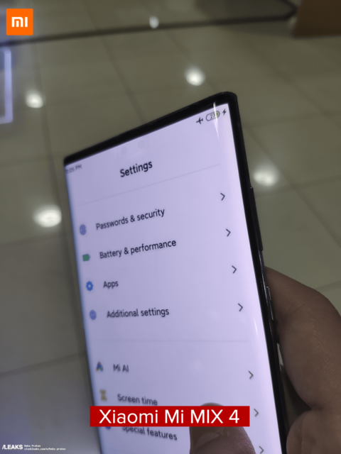 Xiaomi Mi Mix 4 live-photos