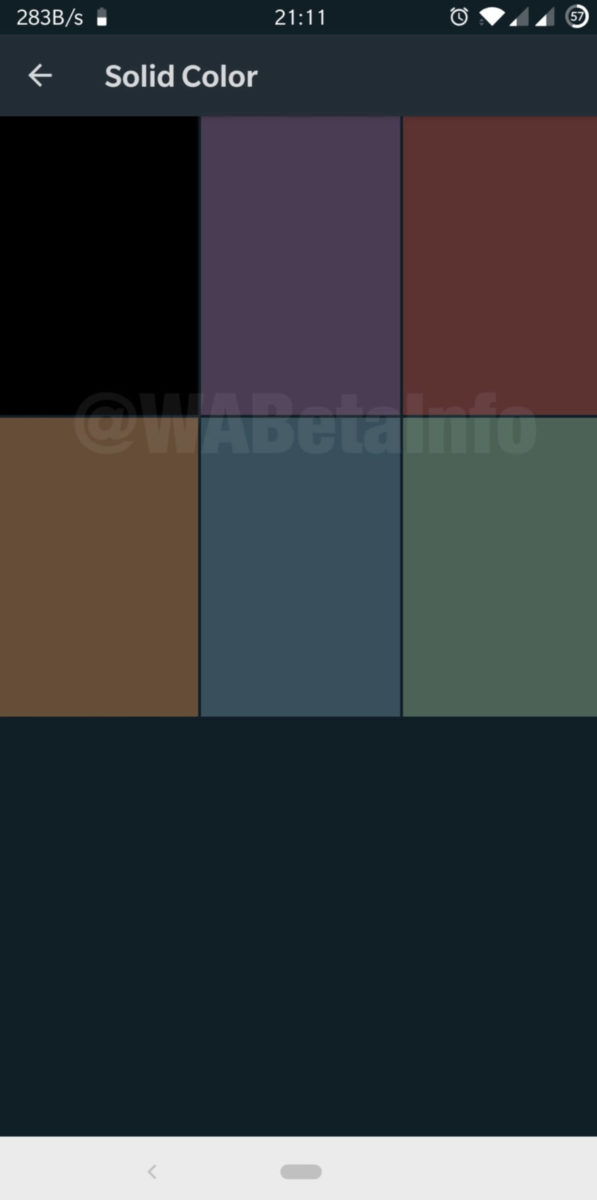 Solid Color WhatsApp