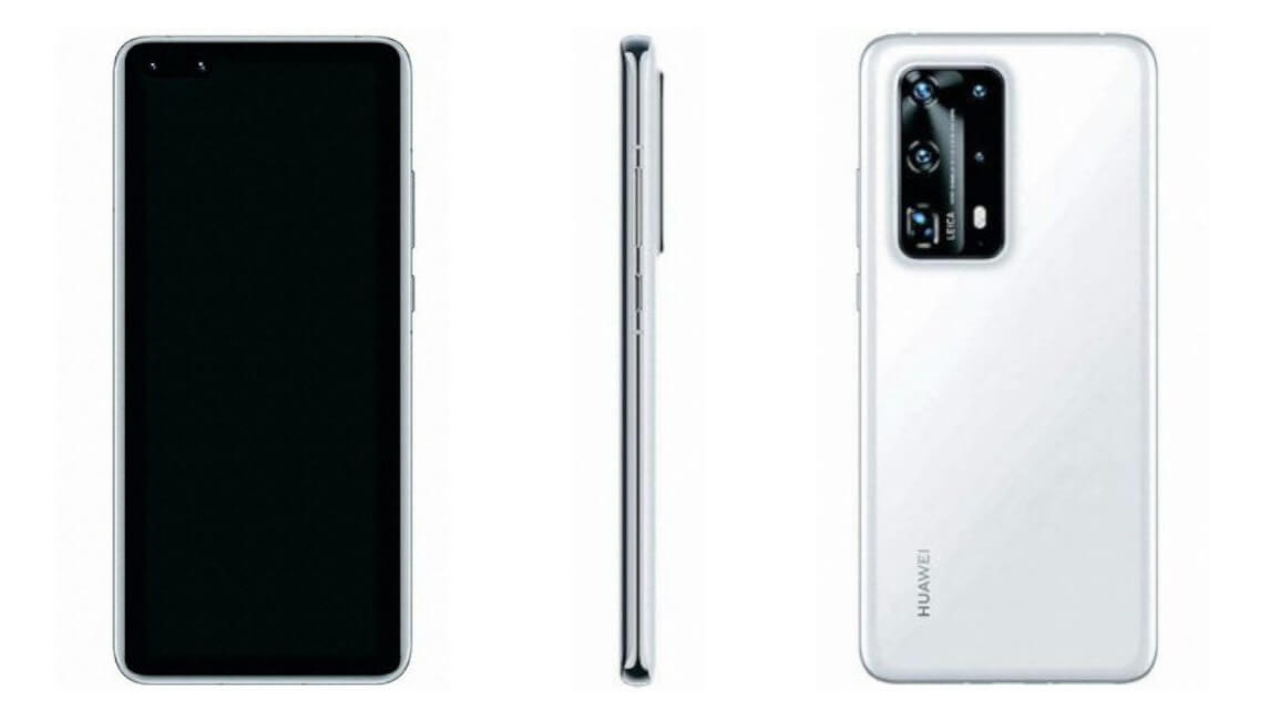 Huawei P40 Pro Premium Edition Renders