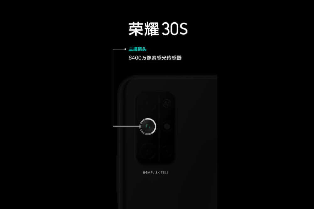 Honor 30S Kamera Leak