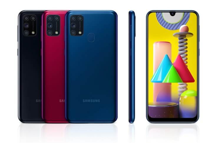 Samsung Galaxy M31 available in Germany for 279 euros - xiaomist
