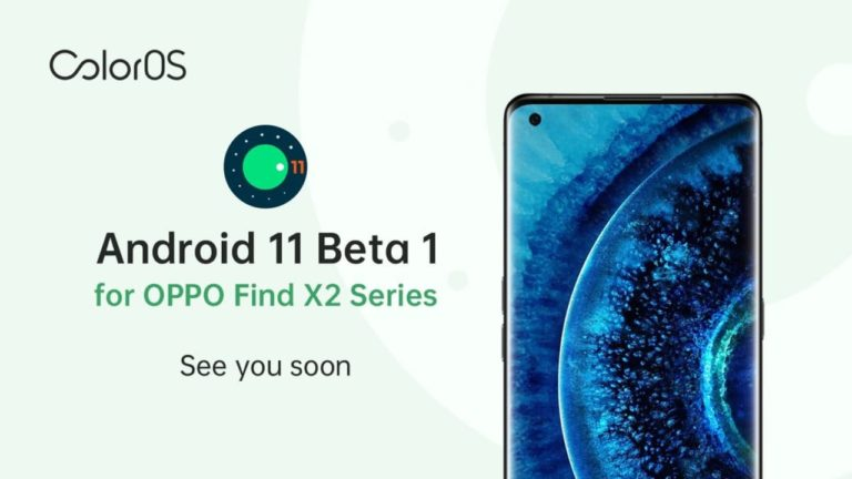 Oppo Android 11 Beta 1