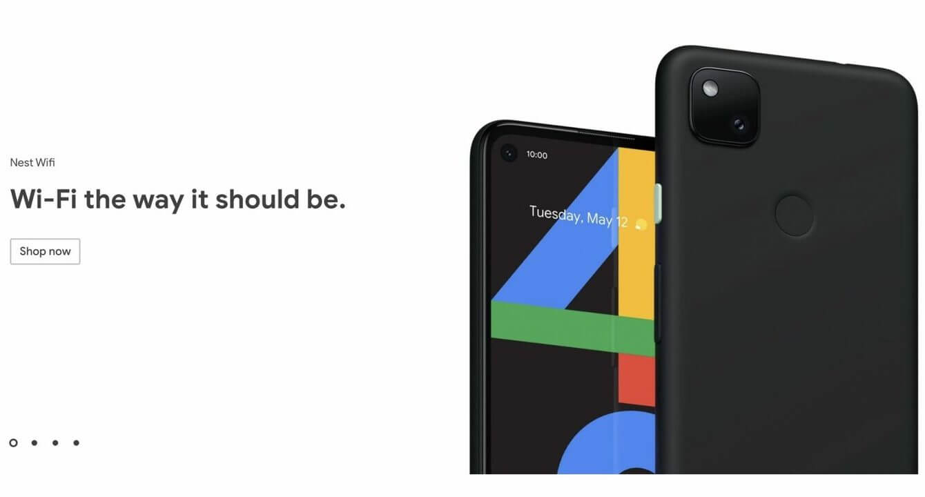 Google Pixel 4a Play Store