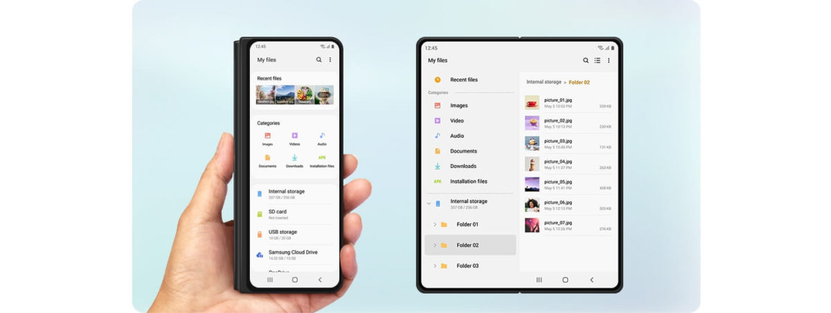 One UI Section